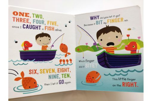 Five Little Monkeys and Other Counting Rhymes Touch and Feel (3)