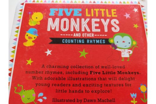 Five Little Monkeys and Other Counting Rhymes Touch and Feel (7)