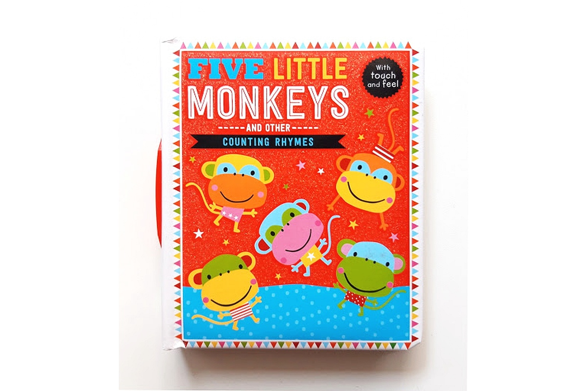 Five Little Monkeys and Other Counting Rhymes Touch and Feel cover