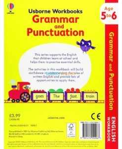 Grammar And Punctuation Age 5 to 6