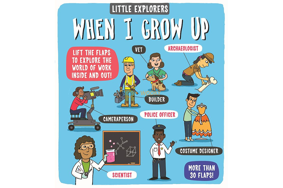 Little Explorers When I Grow Up