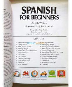 Spanish for Beginners 9780746000588 inside