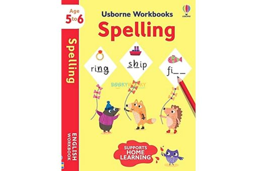Spelling Workbook Age 5 to 6