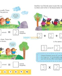 Times Tables Workbook Age 5 to 6