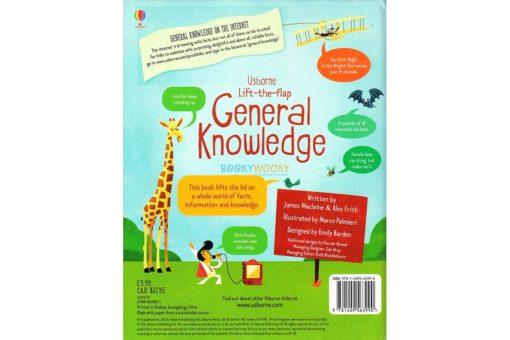 Usborne Lift-The-Flap General Knowledge