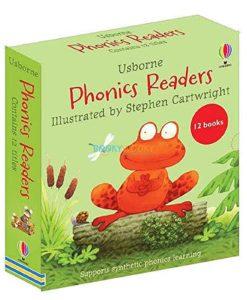 Usborne Phonics Readers (12 in a box)