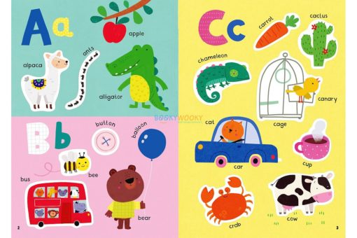 ABC Little First Stickers Book