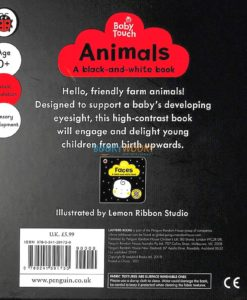 Baby Touch Animals A Black-and-White Book