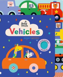 Baby Touch Vehicles Tab Book