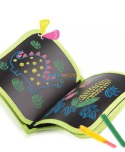 Chalkboard book inside reference image