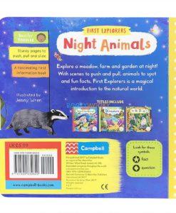 First Explorers Night Animals