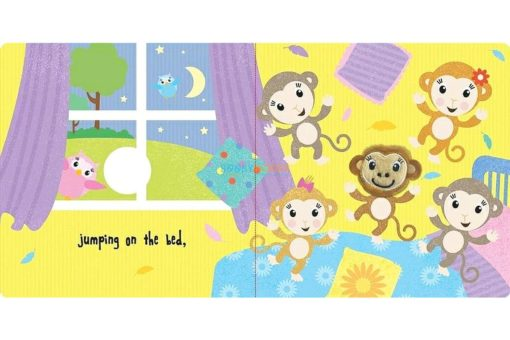 Five Little Monkeys Finger Puppet
