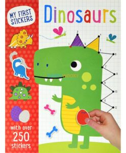 MY FIRST STICKERS DINOSAURS
