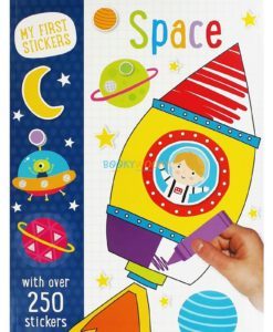 MY FIRST STICKERS SPACE
