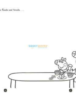 Peppa Pig Daddy and Me Sticker Colouring Book