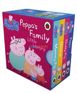 Peppa Pig Peppa's Family Little Library