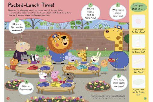 Peppa Pig Yum! Yum! Yum! Sticker Activity Book
