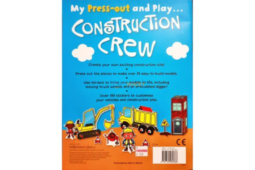 Press-Out And Play Construction