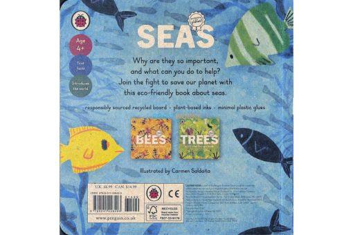 Seas A Lift-The-Flap Eco Book