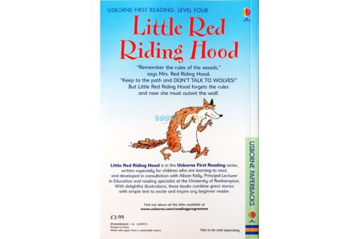 The Little Red Riding Hood - Level 4