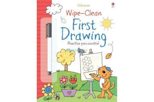 Wipe-Clean First Drawing Practise Pen Control