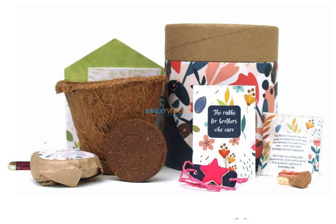 Plantable Rakhi with Seeds Classic Kit – Star Shape