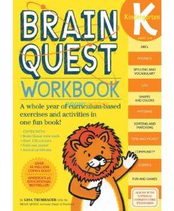 Brain Quest Workbook Kindergarten