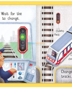 Busy Day Train Driver An Action Play Book