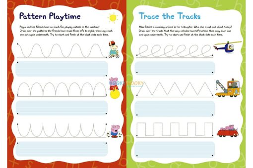 Peppa Pig: My First Book of Patterns Pencil Control