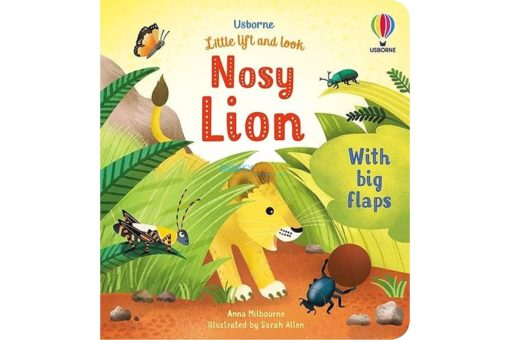 Nosy Lion Little Lift and Look