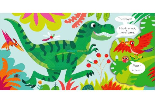 Play Hide & Seek With the Dinosaurs (Lift-the-Flap)