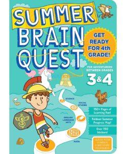 Summer Brain Quest Between Grades 3 & 4