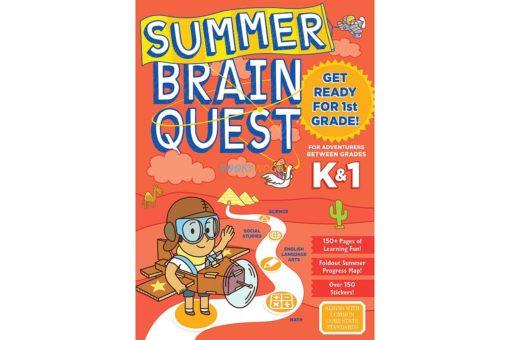 Summer Brain Quest Between Grades K and 1