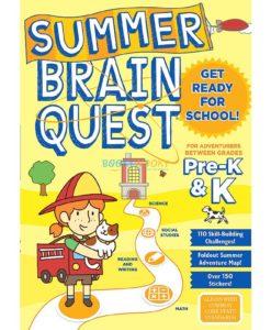 Summer Brain Quest Between Pre-K and K