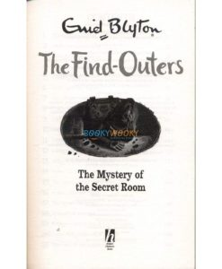 The Mystery of the Secret Room Book
