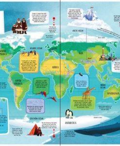 BIG PICTURE ATLAS 9781409598701 Usborne The World