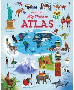 BIG PICTURE ATLAS 9781409598701 Usborne cover